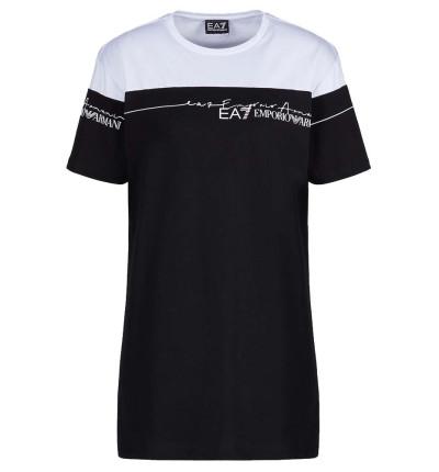 Camiseta M/c Casual_Mujer_ARMANI EA7 Train Logo Series Extended
