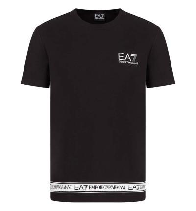 Camiseta M/c Casual_Hombre_ARMANI EA7 Train Logo Series M Tape Tee St