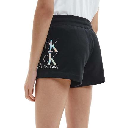 Short Casual_Mujer_CALVIN KLEIN Shine Logo Knit Short