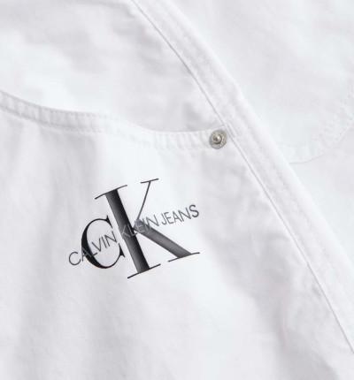Short Casual_Mujer_CALVIN KLEIN Cotton Twill Hr Short