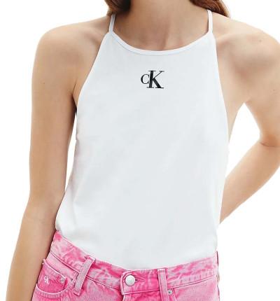 Camiseta tirantes Casual_Mujer_CALVIN KLEIN Micro Ck On Camisole Top