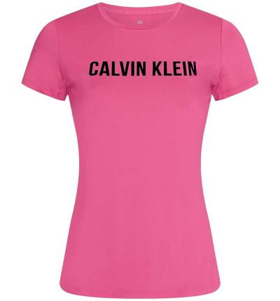 Camiseta M/c Casual_Mujer_CALVIN KLEIN Pw Ss Logo T-shirt