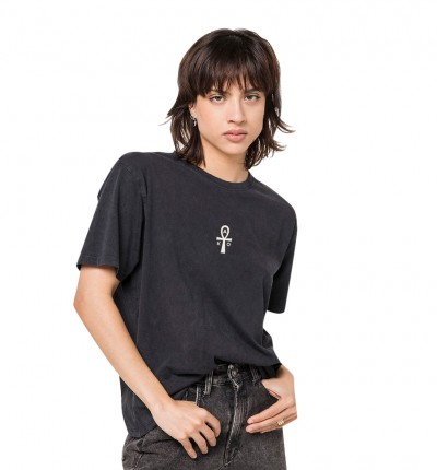 Camiseta M/c Casual_Mujer_KAOTIKO M/c Washed Eternal Life