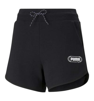 Shorts Casual_Mujer_PUMA Rebel 4 High Waist Shorts Tr