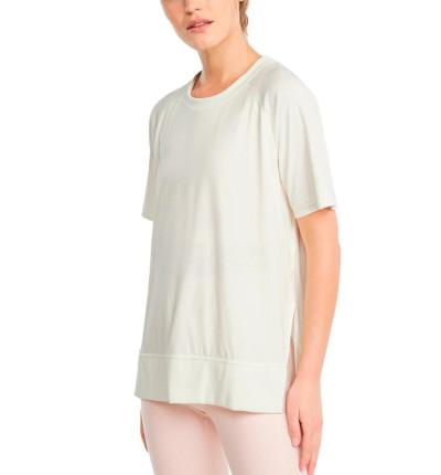 Camiseta M/c Fitness_Mujer_PUMA Studio Relaxed Rib Trim Tee
