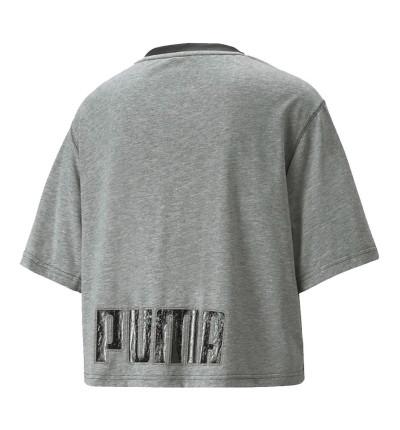 Camiseta M/c Fitness_Mujer_PUMA Moto Puma Tee