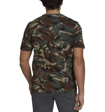 Camiseta M/c Casual_Hombre_ADIDAS M Camo Aop T