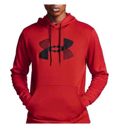Hoodie Sudadera Capucha Fitness_Hombre_UNDER ARMOUR Men´s Armour Fleecea Big Logo Ho