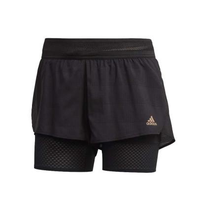 Short 2 en 1 Running_Mujer_ADIDAS Heat Rdy Short