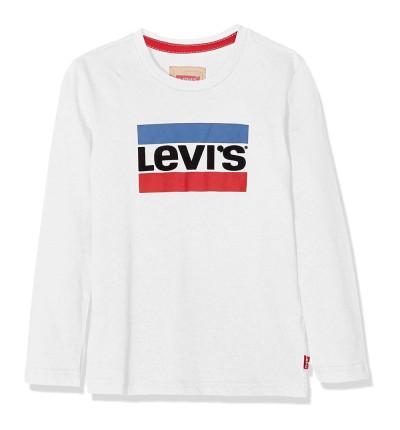 Camiseta M/l Casual_Niño_LEVIS Ls Tee Heroel