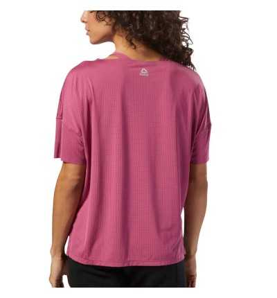 Camiseta M/c Fitness REEBOK Perforated Tee  Twiber