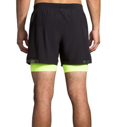 Short Running_Hombre_BROOKS Carbonite 5 2-in-1 Short