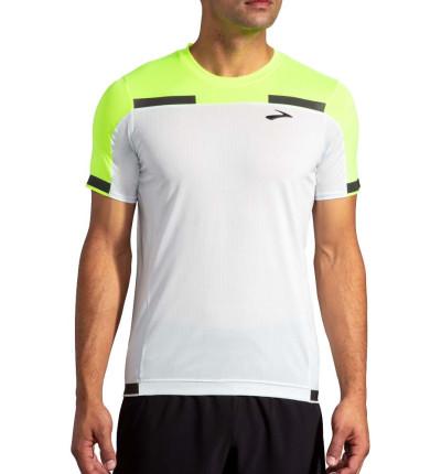 Camiseta M/c Running_Hombre_BROOKS Carbonite Short Sleeve