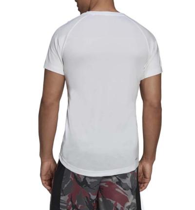 Camiseta M/c  Fitness_Hombre_ADIDAS M Mt T