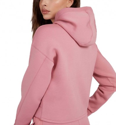 Hoodie Sudadera Capucha Casual_Mujer_GUESS Alisa Hooded Sweatshirt