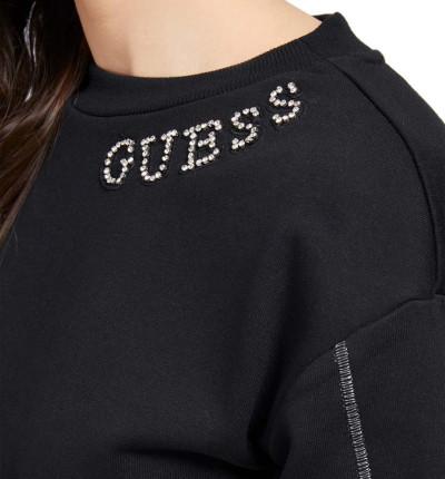 Sudadera Casual_Mujer_GUESS Gurli Fleece