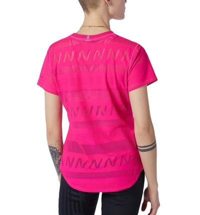 Camiseta M/c Running_Mujer_NEW BALANCE Q Speed Jacquard Short Sleeve