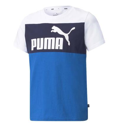 Camiseta M/c Casual_Niño_PUMA Ess+ Colorblock Tee B