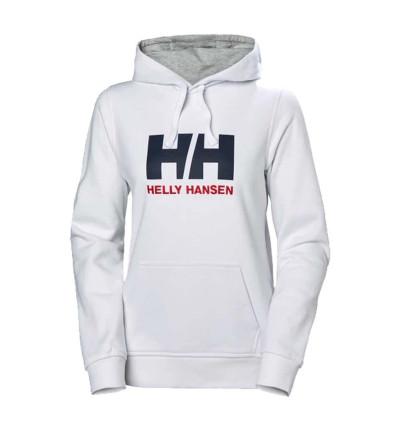 Hoodie Sudadera Capucha Casual_Mujer_HELLY HANSEN W Hh Logo Hoodie