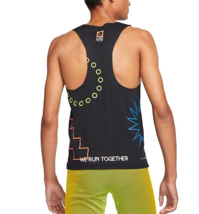 Camiseta De Tirantes Running_Hombre_NIKE M Nk Dfadv Ldn Aroswft Snglt