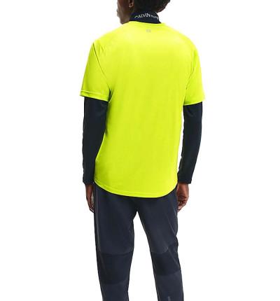 Camiseta M/c Fitness_Hombre_CALVIN KLEIN Wo Ss T-shirt