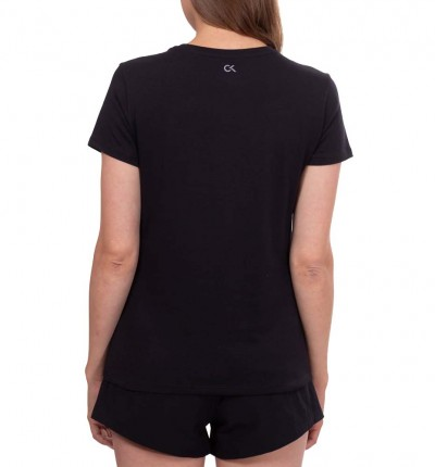 Camiseta M/c Fitness_Mujer_CALVIN KLEIN Wo Ss T-shirt