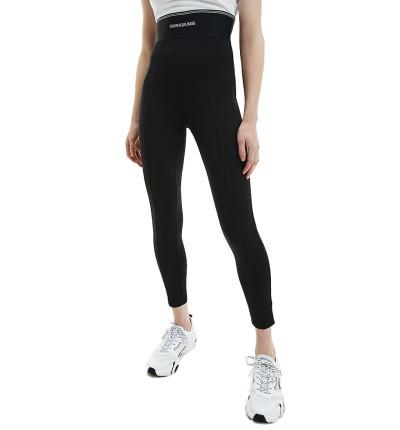 Mallas Largas Casual_Mujer_CALVIN KLEIN Milano Logo Elastic Legging