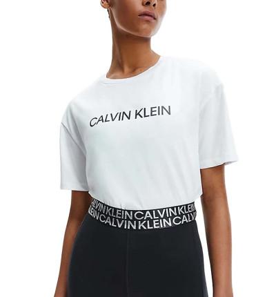 Camiseta M/c Fitness_Mujer_CALVIN KLEIN Pw Ss Boyfriend T-shirt