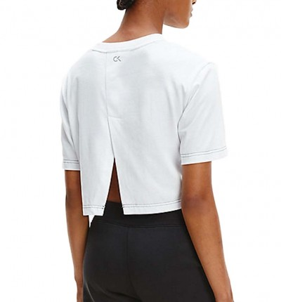 Camiseta M/c Casual_Mujer_CALVIN KLEIN Pw Open Back Cropped Ss T-shir