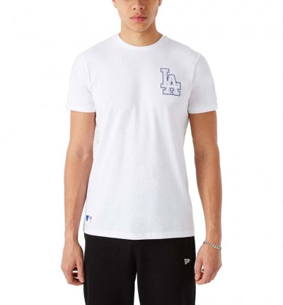 Camiseta M/c Casual_Hombre_NEW ERA Mlb Chain Stitch Tee
