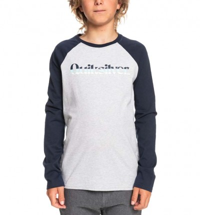 Camiseta M/l Casual_Niño_QUIKSILVER Primarycolsyth B Tees