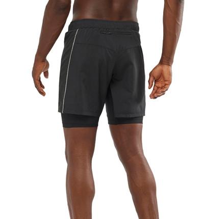 Shorts 2 en 1 Trail Running_Hombre_SALOMON Xa Twinskin Short M
