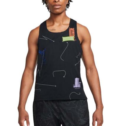 Camiseta De Tirantes Running_Hombre_NIKE M Nk Dfadv Berlin As Snglt