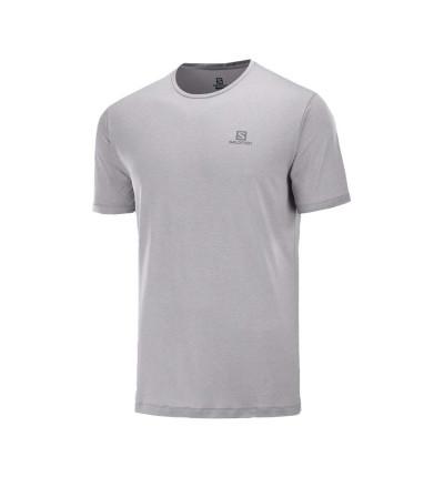 Camiseta M/c Trail_Hombre_SALOMON Cm Mc Agile Training Tee M