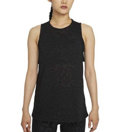 Camiseta Sin Mangas Fitness_Mujer_Nike Pro Dri-fit