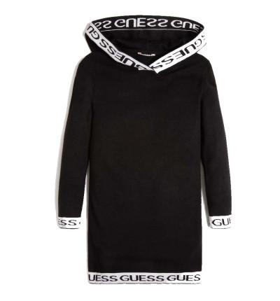 Vestido Casual_Niña_GUESS Hooded Ls Sweater Dress