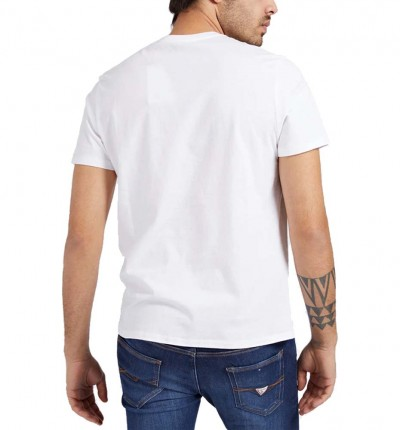 Camiseta M/c Casual_Hombre_GUESS Ss Morse Code Logo