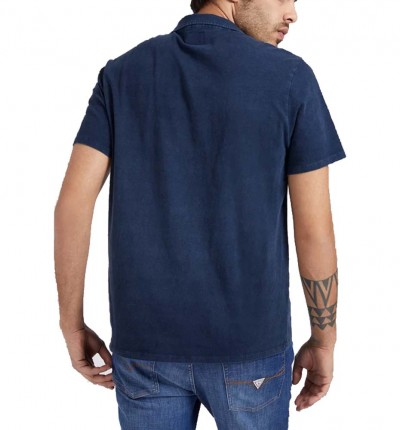 Polo Casual_Hombre_GUESS Es Ss Eli Jersey Washed Polo