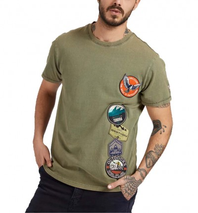 Camiseta M/c Casual_Hombre_GUESS Cn Ss Tee