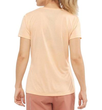 Camiseta M/c Trail_Mujer_SALOMON Agile Ss Tee W