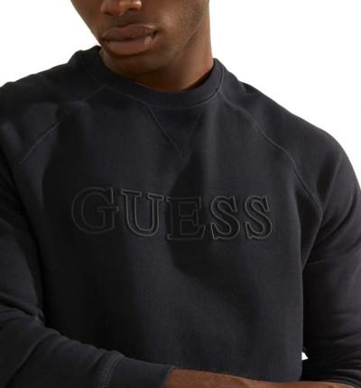 Sudadera Casual_Hombre_GUESS Crew Neck Aldwin Sweatshirt