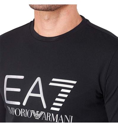 Camiseta M/l Casual ARMANI Train Logo Te Ls St