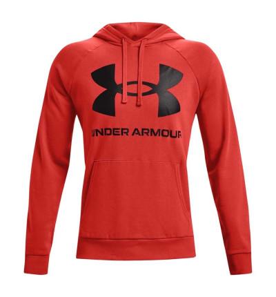 Hoodie Sudadera Capucha Casual_Hombre_UNDER ARMOUR Rival Fleece Big Logo Hd