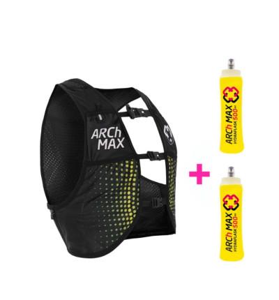 Mochila Hidratación Trail_Unisex_ZEIBE Hydration Vest 4.5l + 2 Sf 500ml