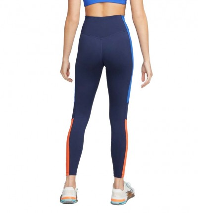 Mallas Largas Fitness_Mujer_Nike Dri-fit One Color-block