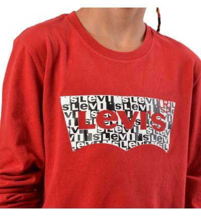 Camiseta M/l Casual_Niño_LEVIS Ls Tee Bataop