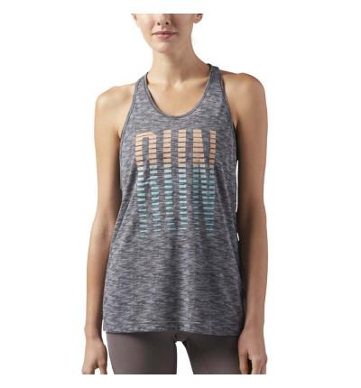 Camiseta de tirantes para Running REEBOK MUJER