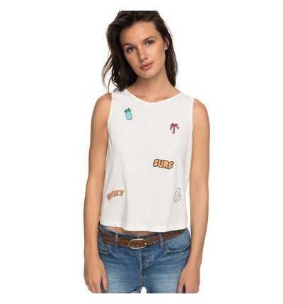 Camiseta de tirantes Casual ROXY Icecreamneonb J Tees