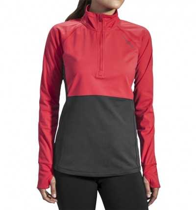 Camiseta tecnica de Running BROOKS Drift 1/2 Zip