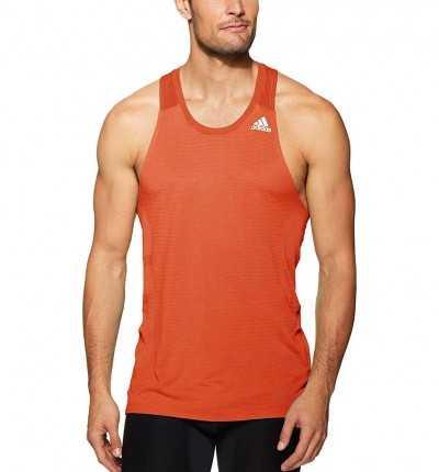 Camiseta de tirantes Running Hombre ADIDAS